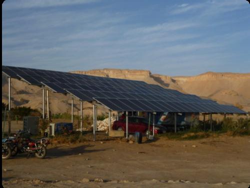 Wenn die Wüste grün wird – Photovoltaikanlage in der Oase Dakhla/Ägypten