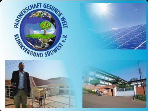Solaranlage für das Lubaga Hospital in Kampala, Uganda