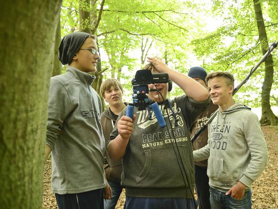 Vielfalt filmen mit Vision - Jugend NaturfilmCamp