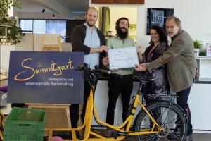Unsere Kampagne auf EcoCrowd: Summtgarter Imker nachhaltig mobil in Stuttgart