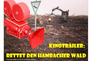 Kinotrailer: Rettet den Hambacher Wald