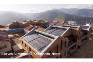 Photovoltaikanlage für ein Gesundheitszentrum in Jampaling/Nepal
