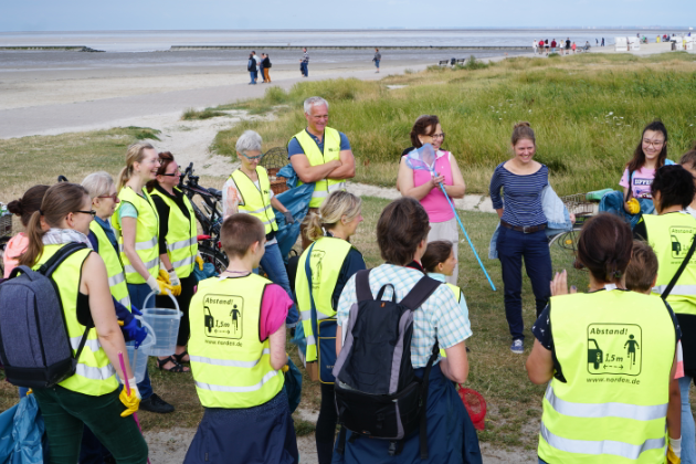 Nordsee Clean Up 2020