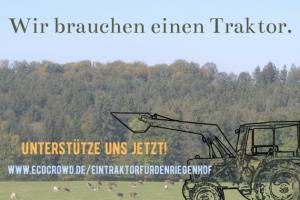 Ein Traktor für den Riegenhof