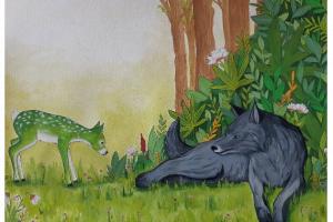 Wolfsfreundschaft – ein Kinderbuch