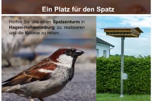 Spatzenturm für Hagen-Hohenlimburg