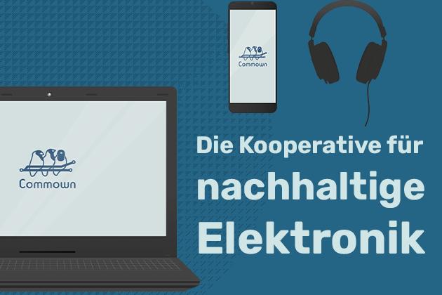 Commown: die Kooperative für nachhaltige Elektronik!