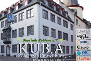 Nachhaltigkeit für KUB.A, das Koblenzer Umweltbüro