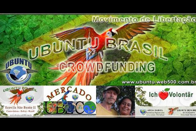 Aufbauhilfe für Pflanzschule und Ökodorf von Ubuntu Brasil